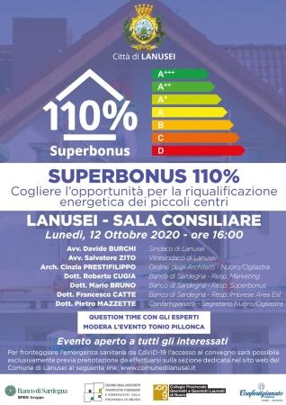 SUPERBONUS 110% Cogliere l'opportunità per la riqualificazione energetica dei piccoli centri