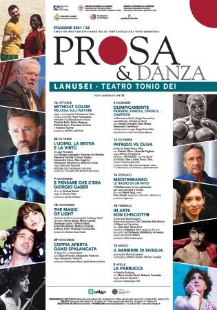 TEATRO 'Prosa & Danza' - Stagione 2021-22
