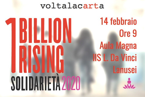 Locandina One Billion Rising